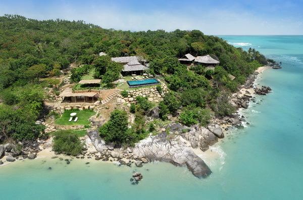 Ban Taling Ngam Villa 4113 Samudra aerial view