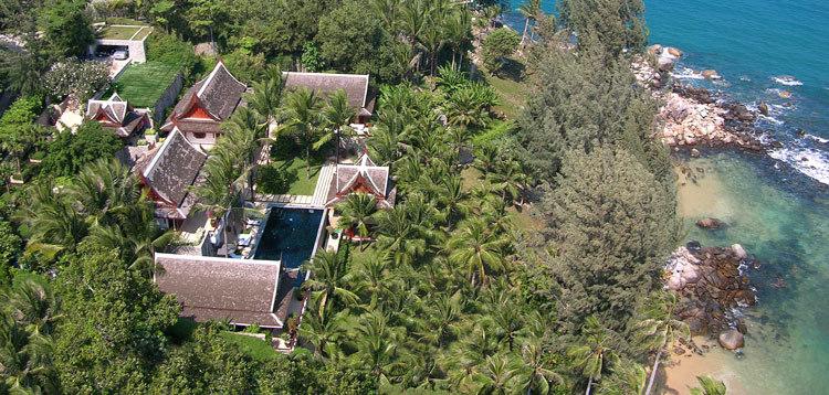 Kamala Villa 409 Phuket aerial view