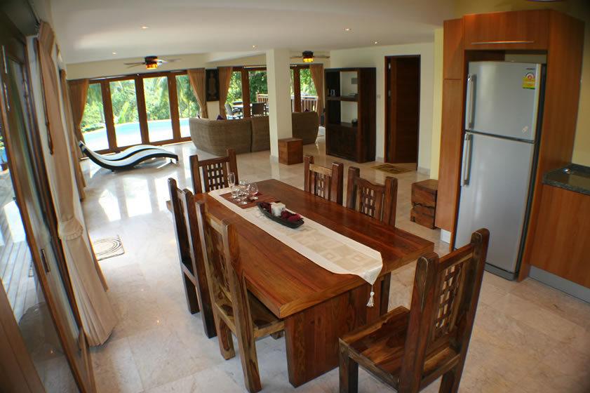 Koh Phangan Villa 4165 Dining Space
