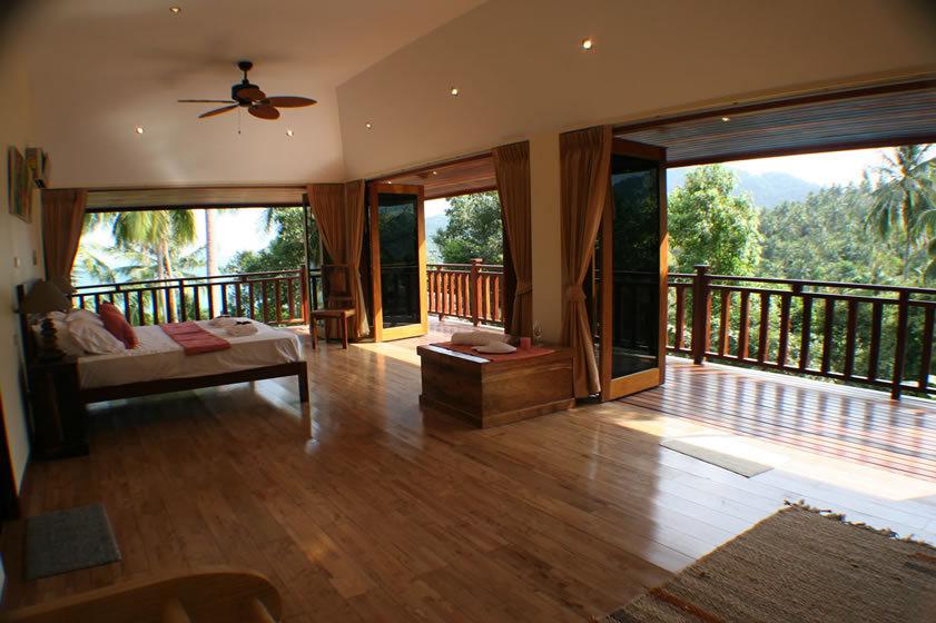 Koh Phangan Villa 4165- Spacious bedrooms 2