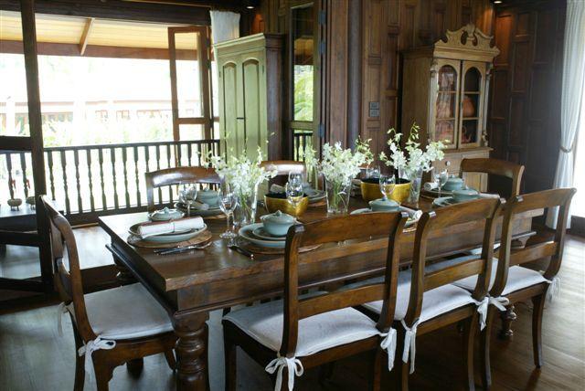 Koh Samui Villa 413 Dining