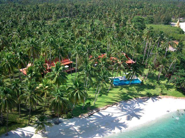 Koh Samui Villa 413 - Natural location of the villa