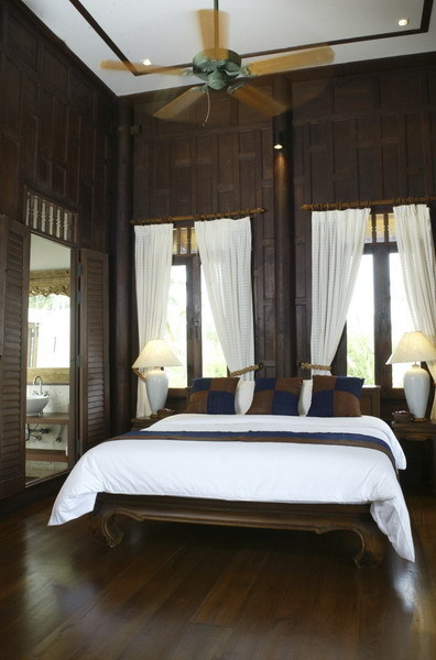 Koh Samui Villa 413 - bedrooms are ideal for bride's makeup and preparation