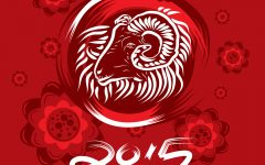 Chinese new Year of the Goat in 2015