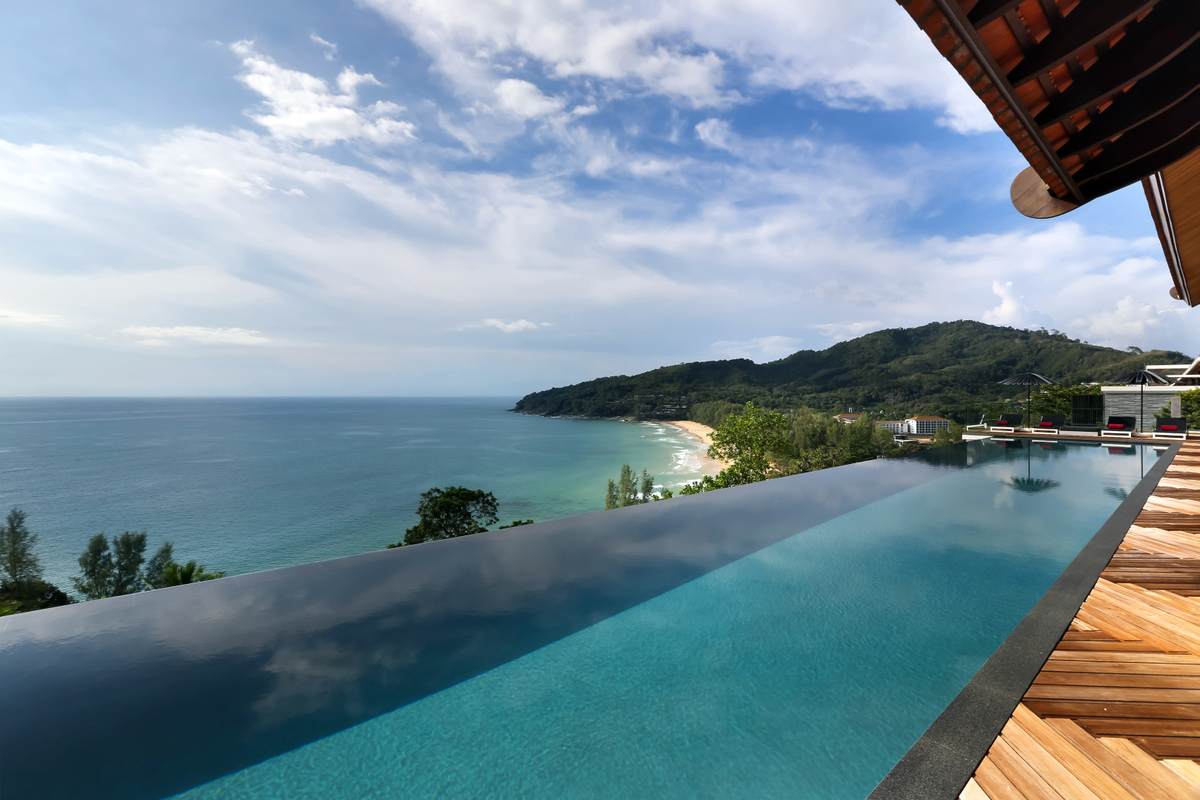 Phuket Villa 412  view of sea