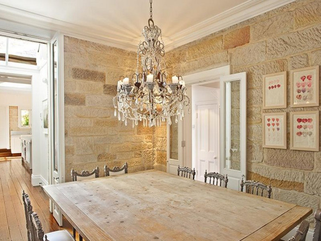 Villa 536 in Paddington - formal dining room is a perfect place for an elegant evening diner party