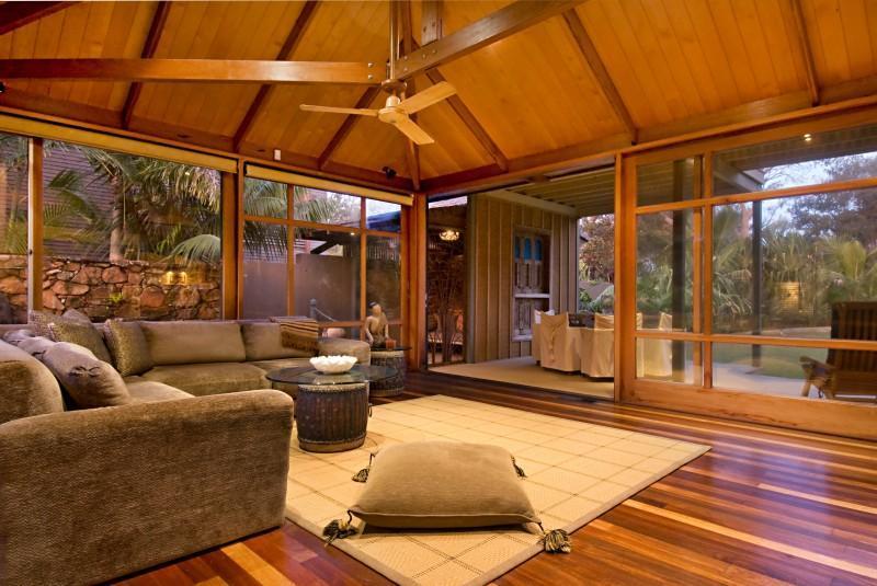 Byron Bay Villa 5195 - open plan ground floor