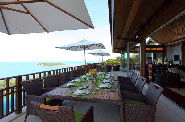 Koh Samui Villa 4255 - Grand dining