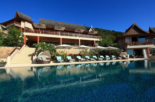 Koh Samui Villa 4255 - grandeur structure serves as the luxurious sanctuary for 12 guests