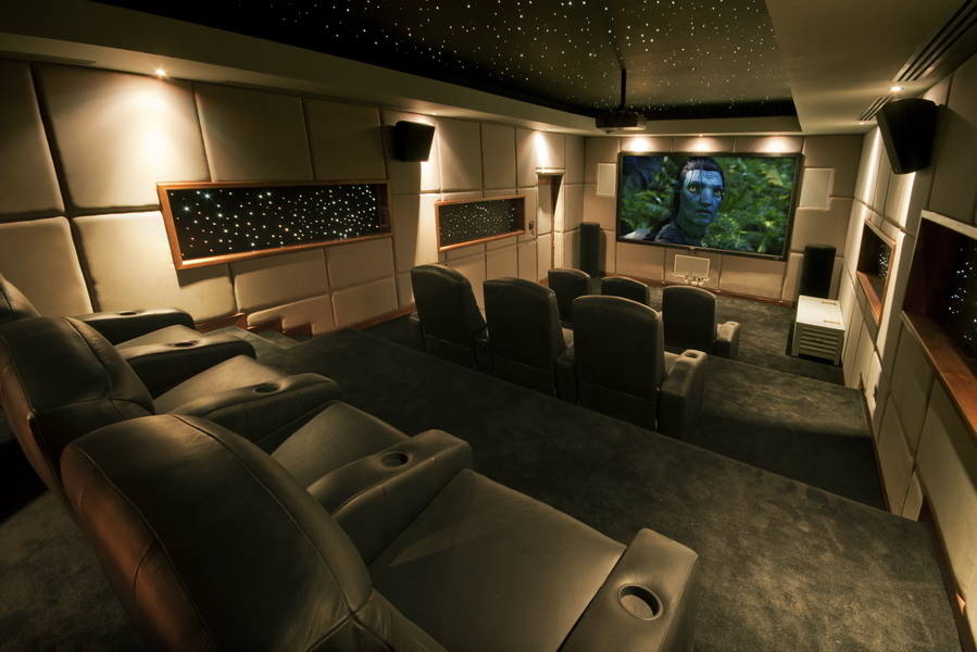 Koh Samui Villa 4375  - private 12-seater cinema for movie time