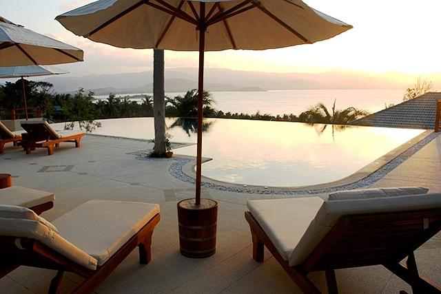 Koh Samui villa 4133 - Two infinity pools