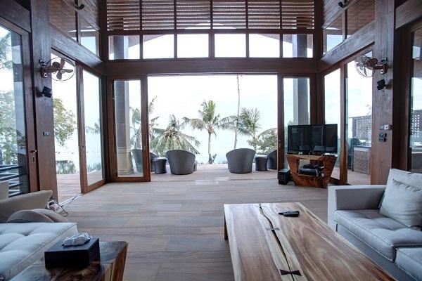 Koh Samui villa 4344 - contemporary furniture