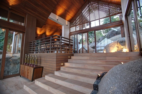 Koh Samui villa 4344 - tropical beach setting