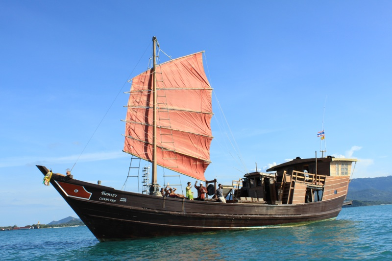 chinese boat cruise