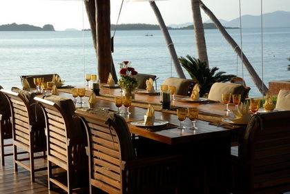 Koh Samui Villa 4156 outdoor dining