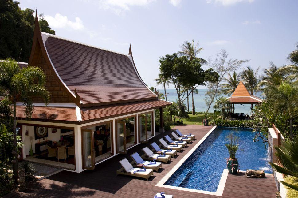 Koh Samui Villa 466 Exquisite lounge area