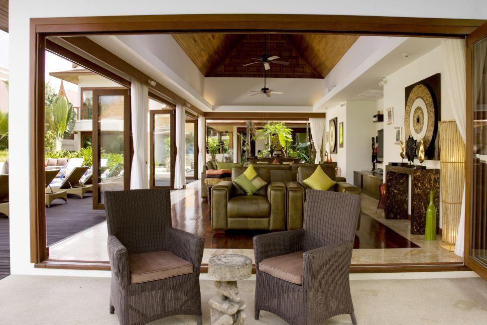 Koh Samui Villa 466 Living Room