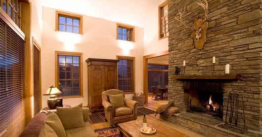 Queenstown Villa 622 - fireplace
