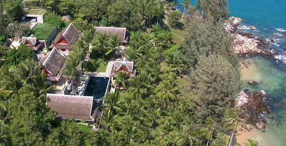 Villa 409 Phuket, Beach front Villa, Luxury Holidays Thailand