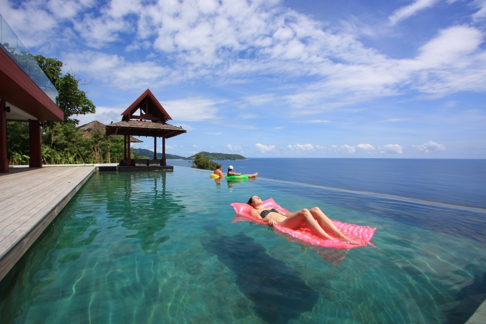 Phuket Villas, Private infinity pool, Thailand holidays, Villa Getaways
