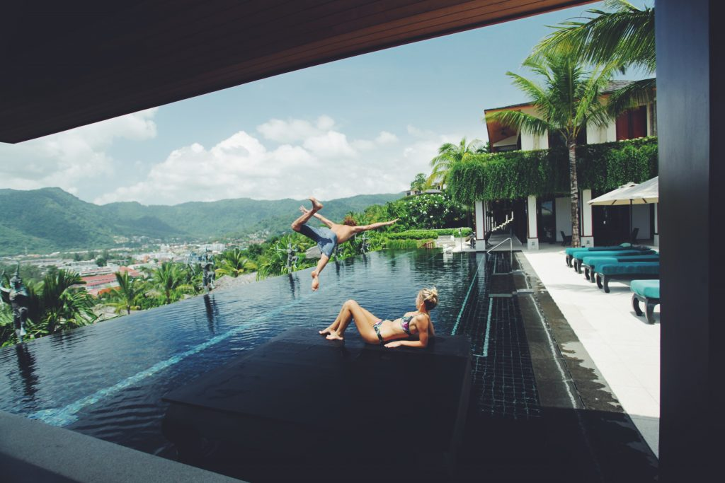 Jay Alvarrez and Alexis Ren Villa 4227, Phuket, Villa Getaways, Luxury Vacation