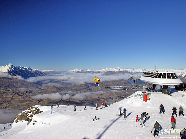 enjoy skiing at Coronet Peak with a Villa Getaways Villa this winter