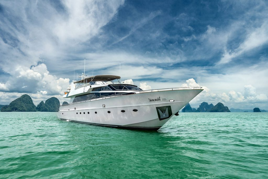 Luxury Private Charter Yacht Phuket