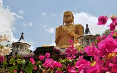 Golden Buddha of Dambulla, Sri Lanka. Travel with Villa Getaways