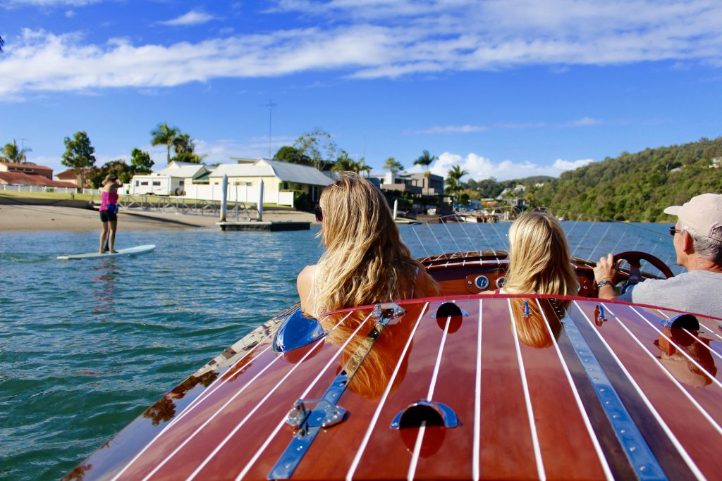 Luxe Cruiser Experience, Noosa River with Villa Getaways