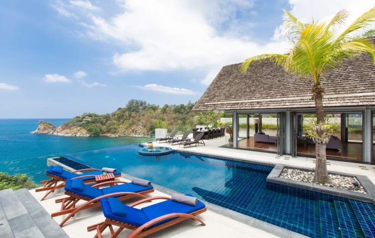 Swimming pool at villa 2, Samsara private estate, Kamala, Phuket, Thailand, VIilla Getaways