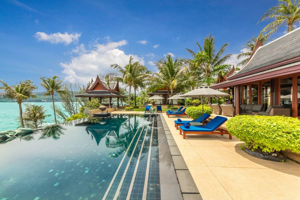 Luxurious private villa 423 Laemson Phuket