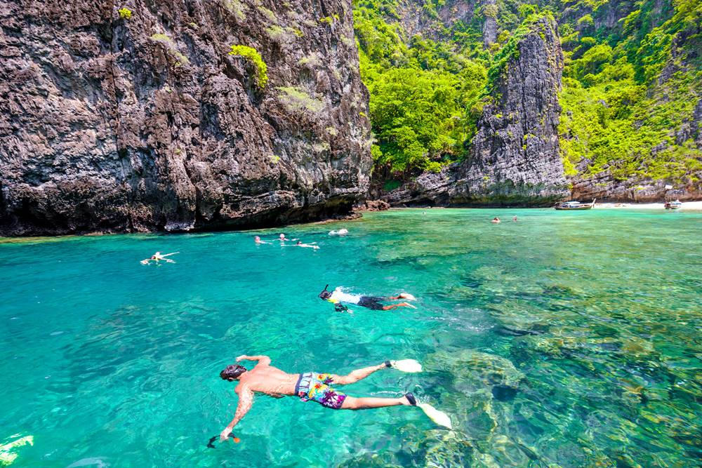 Koh Phi Phi Islands, island hoping by Villa Getaways