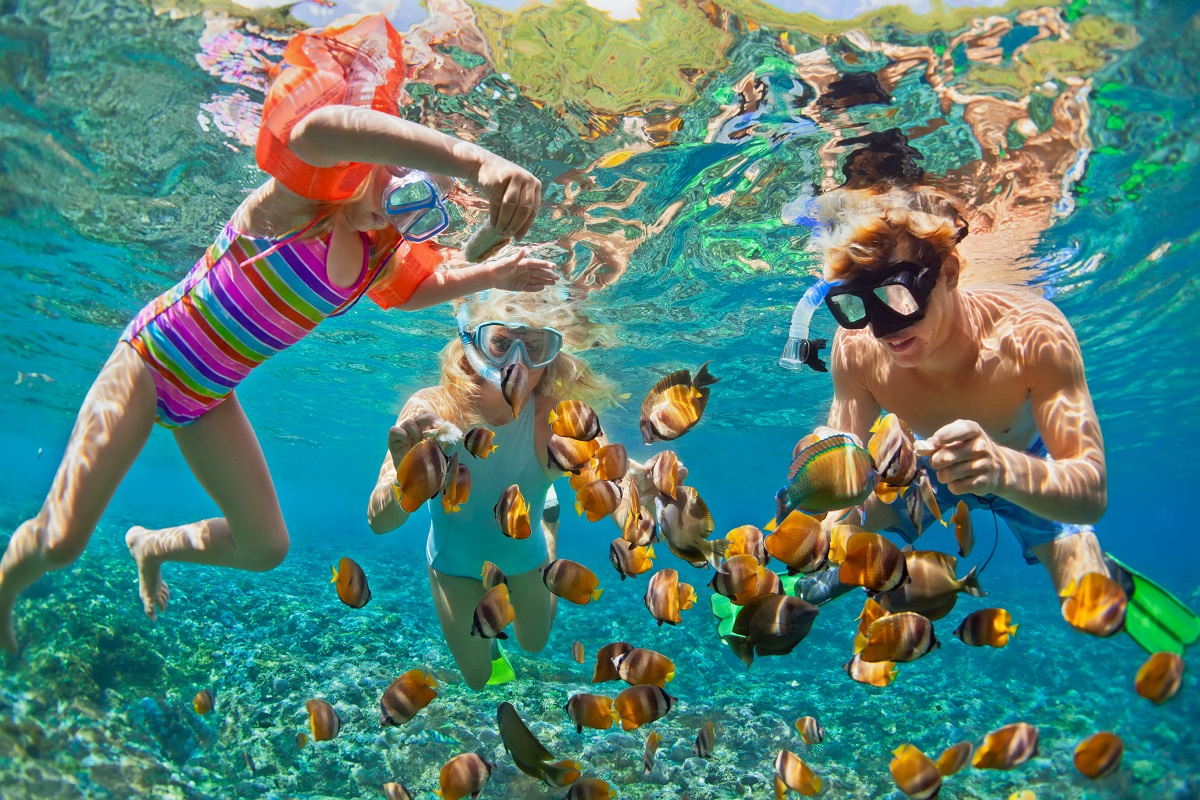 Snorkelling with villa getaways