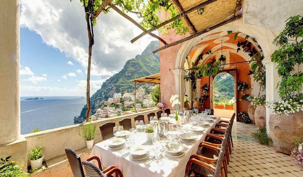 Where to travel in 2020? Stunning Amalfi Coast Villa 9169